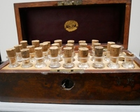 Homeopathy medicine chest (unknown owner)